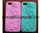 Nice Silicone Rose iPhone 5 Phone Cases